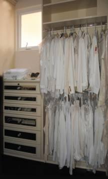 Custom Designer Closet 1 / White Painted Closet 1